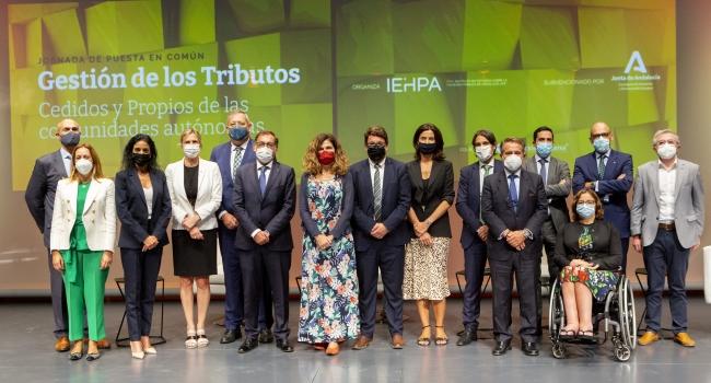 Jornada de puesta en común sobre La Gestión de los Tributos Cedidos y Propios de las Comunidades Autónomas 107